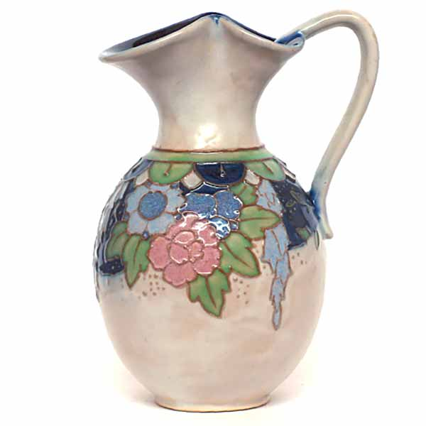 An Art Nouveau jug by Jane Hurst