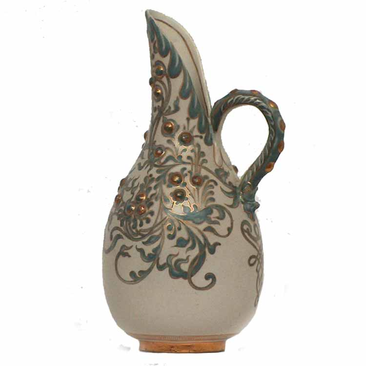Mark Marshall - a Doulton Lambeth Carrara Ware ewer