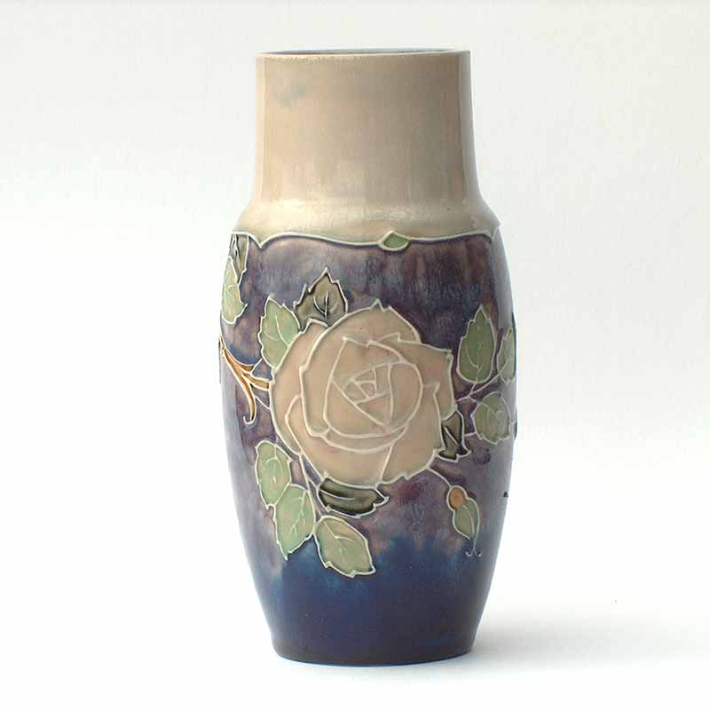 Royal Doulton Art Nouveau stoneware vase by Jane Hurst