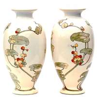 Pair of  vases by Agnes Baigent